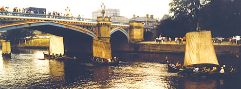 Four Boats in York, 1985.