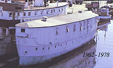 Found as a homeless shelter in Oslow 1977, its name was The Old Boat.