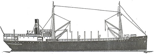 Drawing of Hestmanden.