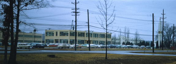US Army Ordnance Guided Missle School Headquarters at Redstone Arsenal in 1958.